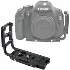 Vertical Shoot Quick Release Plate/Camera Holder Grip f Canon EOS 550D/500D/450D