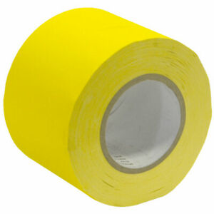 Seismic Audio Gaffer's Tape - Yellow 4 inch Roll 60 Yards per Roll Gaffers Tape