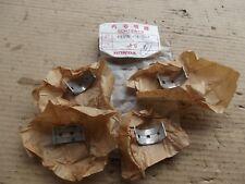 HONDA CB250T CB400T  MAIN BEARING SHELLS 4 OFF  13316 414 004 NOS  17