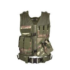 Usmc Tactique Dégainer rapidement Gilet Italien Vegetato Camouflage Mil-tec