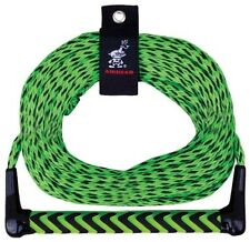 Tow Rope 75ft w/ Eva Floating Handle Water Sports Skiing Wakeboarding Tubing