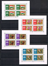 Ungheria 1961 KLB-frase 1783/86 esposizione/animali Fresco Posta