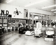 Arcade Games at Two Guys Entrance 1962 8 x 10  Photograph