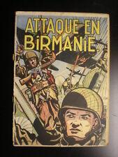 Attaque en Birmanie Buck Danny Hubinon Charlier Réed 1953