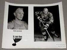 Original Late-60's Ron Schock St-Louis Blues Photo