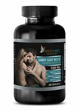 Horny Goat Weed - Natural Enhancement Formula for Men & Women - 1 Bottle