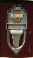 "New Illinois Solid Pewter Door Knocker 7 3/4"" X 3"" W/Box"
