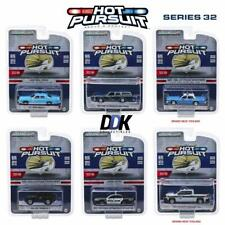 Greenlight 42890 Hot Pursuit 32 Complete Set of 6 Diecast Police Cars1:64