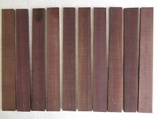 """(10) Lot of 10, Beautiful Indian Rosewood Tapared Fingerboard 21"""" Free Shipping"""