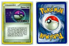 Master Ball 88/107 STAMPED REVERSE HOLO EX Deoxys Pokemon Card P Cond