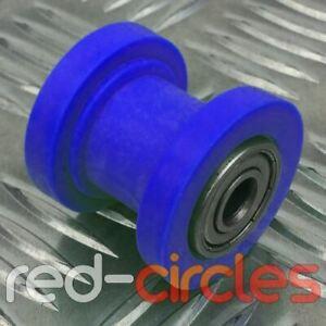8mm BLUE PIT DIRT BIKE DRIVE CHAIN ROLLER WHEEL GUIDE 140cc 150cc 160cc PITBIKE