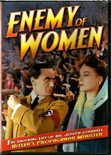 PAUL ANDOR ~ CLAUDIA DRAKE * ENEMY OF WOMEN ~1944 B & W * BRAND NEW ~ SEALED DVD