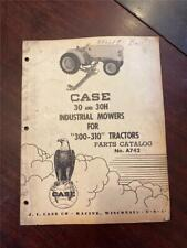 Vintage Case 30 Amp 30h Mower For 300 310 Tractor Part Catalog A742 121956