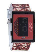 Yonehara Yasumasa X Flud Red Digital LCD Cartridge Watch Women's Legs New in Box