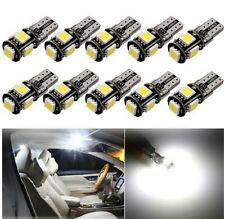 10x Ampoules T10 W5W LED Canbus 6000K Veilleuses Auto interieur et exterieur 12V