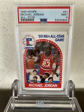 1989 Hoops Michael Jordan All Star PSA 9