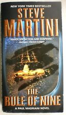 THE RULE OF NINE Steve Martini 1st Print 2011 Mystery Espionage Large Paperback