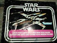 INSTRUCTIONS ~ VINTAGE STAR WARS MILLENNIUM FALCON KENNER 1979 insert booklets