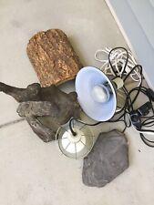 New listing lizard heating pad, Light, Branch, Night Heater, Etc. Full Bearded Dragon Set
