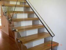 13 thick oak stair treads - 60mm - top quality