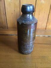 Antique Stoneware Salt Glaze Table Water Bottle-Dawes Prize Winner of Dartmouth