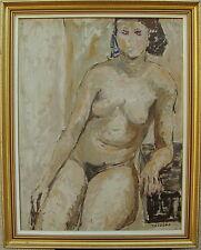 Harald Widing 1903-1984, aufgestützter weiblicher Akt, um 1960