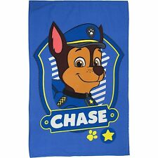 OFFICIAL BLUE CHASE PAW PATROL PANEL FLEECE CHILDRENS PAW PATROL BLANKET