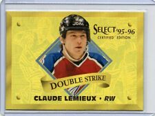 95-96 Select Certified Double Strike Gold Claude Lemieux /903 Avalanche
