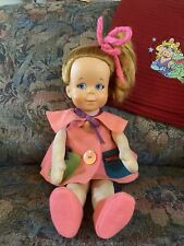 1965 Teachy Keen Doll Pull String Talker By Mattel Restored To Talk/Cleaned