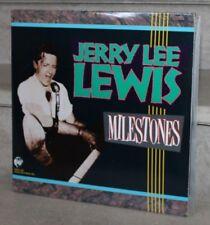 jerry lee lewis -  milestones (double LP) RNDA 1499 (rhino records INC)