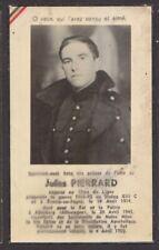 Soldat Jules Pierrard Boussu en Fagne - Allemagne 1945  doodsprentje mortuaire