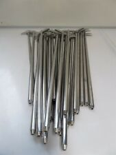 Distek Dissolution Stirrer Paddles Lot Of 25 Silver
