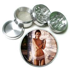 Farmers Daughter Pin Up Girls D5 63mm Aluminum Kitchen Grinder 4 Piece Herbs