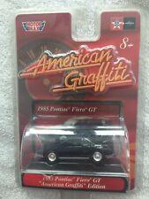 American Graffiti - Motor Max - Black 1985 Pontiac Fiero GT, Series I