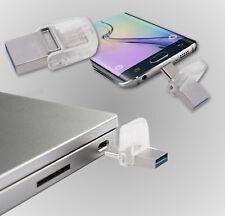 USB 3.1 Stick Pen Drive 64GB Kingston microDuo 3C Type-C für PC, Handy, Tablet