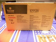 Never Used - Compatible Black Toner Cartridge  for Use In Canon NP-6025/6030 G-7