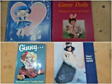 Lot of 4 Different Ginny Doll Books
