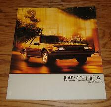 Original 1982 Toyota Celica Deluxe Sales Brochure 82