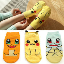 Cute Anime Pokemon Pikachu kawaii Character Sock Pocket Monsters Women Kid Socks