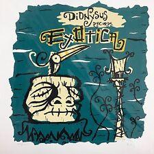 VA: Dionysus Exotica Edt 350 Tiki Tony Art Print Drasnin Tiki Tones Clouseaux +