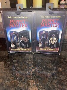 NECA Puppet Master's Ultimate Blade & Torch - Tunneler & Punhead 2pk's IN HAND!!