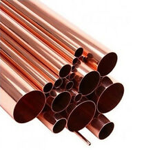 "Size Per Foot, Copper Pipe/Tube 1/2""- 4"" Inch Diameter ""Type L"""