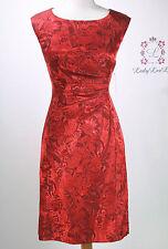 Tahari by ASL Women's Side Ruche Jacquard Sheath Dress Size 4 8 New NWT