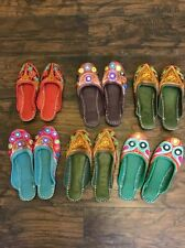Khussa Embroidered shoes slip on