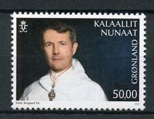 Greenland 2018 MNH HRH Frederik Crown Prince Denmark 50th 1v Set Royalty Stamps