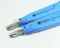 2PCS Set - Krone Network Impact LSA-Plus Punch Down Tool Blue