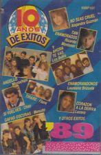 Microchips Chao Menudo Los Bukis 10 Anos De Exitos 89 Cassette Nuevo Sealed