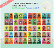 Series 1 Custom White NFC Amiibo Cards for Animal Crossing - 051 to 100