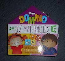 Jeu éducatif Mon Domino Les Maternelles - Jeu éducatif