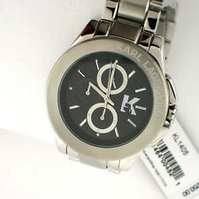 Karl Lagerfeld KL1405 Men's Energy Chronograph Stainless Steel Link Band Watch